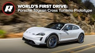 Download Porsche Taycan Cross Turismo Prototype : World's first drive Video