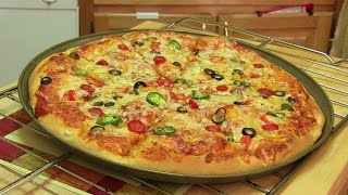 Download Homemade Pizza Video Recipe⭐️ | Start to Finish Pizza Recipe with Dough, Sauce and Toppings Video
