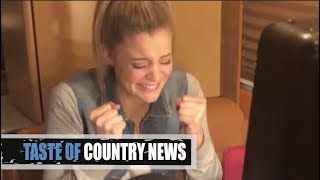 Download Lauren Alaina Loses It When Reba Tells Her She's an ACM Winner Video