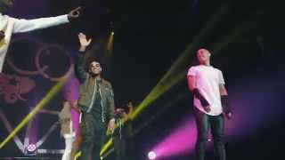 Download Usher surprises Nico & Vinz at #URXTour Manchester Arena 3/23/15 Video