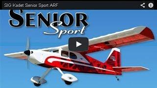 Download SIG Kadet Senior Sport ARF Video