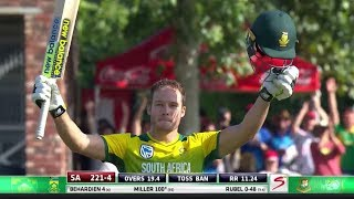 Download David Miller - Fastest T20 Century of all time vs Bangladesh Video
