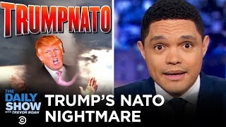 Download Trump Feuds with France at the NATO Summit | The Daily Show Video