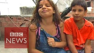 Download 'They smoke crack...' Being 11 in a Rio favela - BBC News Video