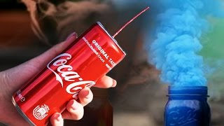 Download How to make a colored smoke bomb from Coca Cola Video