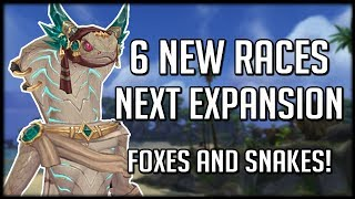 Download The 6 NEW RACES Coming Next Expansion   WoW Battle for Azeroth Beta Video