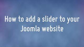 Download How to create a Joomla slideshow Video