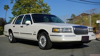 Download 1997 Lincoln Town Car Cartier Exterior Video Review Video