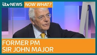 Download John Major: 'Undoubtedly a case for second EU referendum″ as he hits out at Brexit rebels | ITV News Video