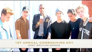 Download NEW DISTRICT Interview at 1st Annual Combsgiving Day, a Thanksgiving Dinner and Block Party Video