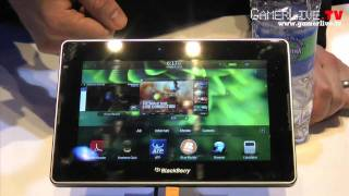 Download CES 2011: First Look at the Blackberry Playbook 4G Tablet Video