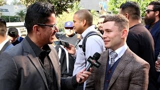 "Download Carl Frampton ""I can adapt, fight forward & backwards; I can make the fight easier"" Video"