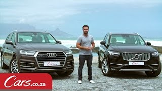 Download New Audi Q7 vs Volvo XC90 – Detailed Review And Comparison Video