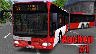 Download OMSI 2: Aachen mit dem MB O530GL #1: Mit Überlänge durch die Kaiserstadt! Video
