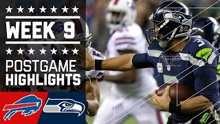 Download Bills vs. Seahawks | NFL Week 9 Game Highlights Video
