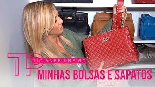 Download MINHAS BOLSAS E SAPATOS DENTRO DO MEU CLOSET!   TICI PINHEIRO Video