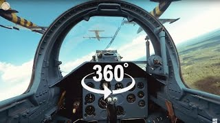 Download Fighter Jet Formation Flying 360° video - 6 Jets! Video