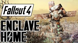 Download Fallout 4 - ENCLAVE Remnant Bunker Player Home! - Great Backstory & Features - Xbox & PC Mod Video