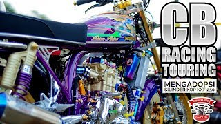 Download CB Racing Touring Mengadopsi Silinder KOP KXF250 - Tirtamanik Channel Pekalongan Video