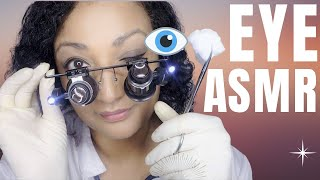 Download ASMR eye exam medical check up roleplay *close up eye check and vision test Video