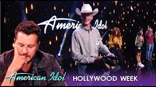 Download Luke Bryan Gives This Poor Cowboy His Boots After MOVING Performance | American Idol 2019 Video