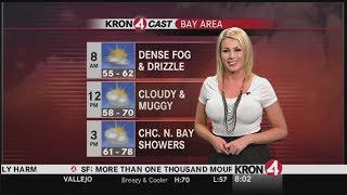 Download Weather Girl Predicts a Cold Front Moving In Video