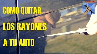 Download COMO ARREGLAR QUITAR RAYONES A UN CARRO Video