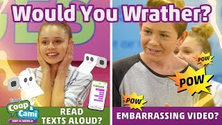 Download Embarrassing Video or Texts Read Aloud?   Coop & Cami Ask the World   Disney Channel Video