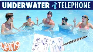 Download UNDERWATER Telephone Challenge with the Space Pen Video