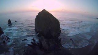 Download Oregon Coast Aerial Video Video