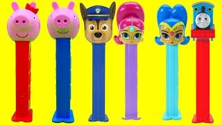 Download Peppa Pig PEZ Surprise Toys! Learn Colors Numbers for Preschool Kids Disney Pop Toys Video