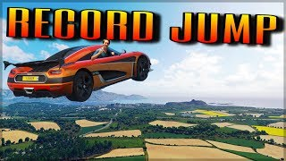 Download Biggest Jump in Forza Horizon 4 | NEW Longest Airtime Record!! Video