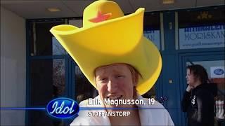 Download Erik Magnusson slår till för fjärde gången i Idol 2009 - Idol Sverige (TV4) Video