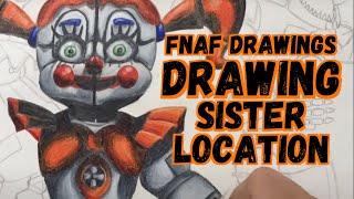 Download Drawing FNAF Sister Location Video