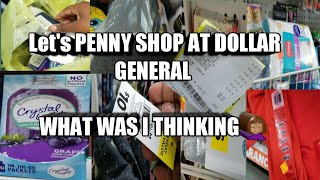 Download DOLLAR GENERAL PENNY SHOPPING. WHAT WAS I THINKING 😒 Video