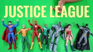 Download Mainan Justice League (Superman, Batman, Green Lantern, Wonder Woman, Cyborg, Flash, Aquaman) Video