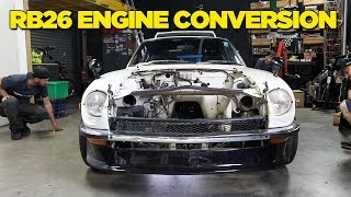 Download 240Z - RB26 Engine Conversion [PART 1] Video