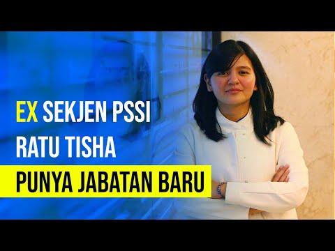 Ex Sekjen PSSI Ratu Tisha Punya Jabatan Baru