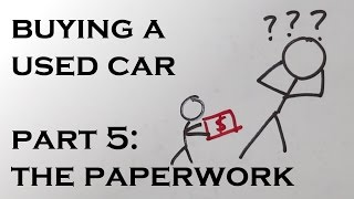 Download Buying a Used Car - Part 5: The Paperwork Video