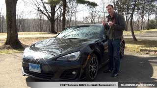 Download Review: 2017 Subaru BRZ Limited (Automatic) Video