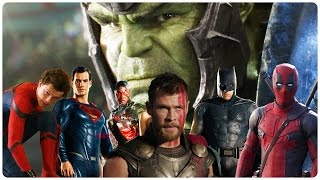 Download All SUPERHERO Movie Trailers (2017) Video