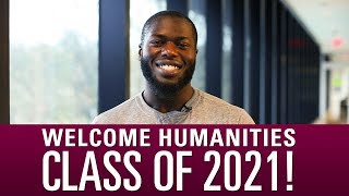 Download Welcome Humanities Class of 2021! Video