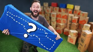 Download NERF 100 Mystery Box Challenge Video