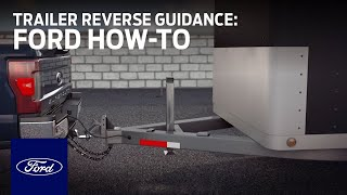 Download Setting Up Trailer Reverse Guidance | Ford How-To | Ford Video