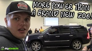 Download This Escalade is Built to Hurt GT500 and Corvette Feelings!! Video