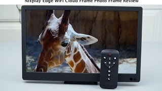 Download Nixplay Edge WiFi Cloud Frame Photo Frame Review Video