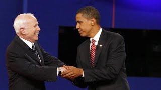 Download Remembering John McCain's defense of Barack Obama during 2008 campaign Video