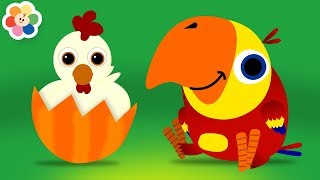Download Learn Animals Sounds with Funny Larry Surprise Eggs   Learning Animal Names for Kids on BabyFirst TV Video