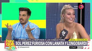 Download Sol Pérez furiosa con Lanata y Longobardi Video