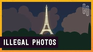 Download Why Photos of the Eiffel Tower at Night are Illegal Video